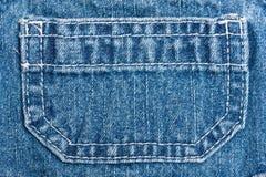 τσέπη Jean Στοκ εικόνα με δικαίωμα ελεύθερης χρήσης