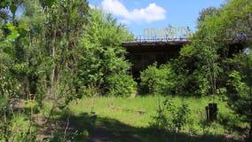 Τσέρνομπιλ Pripyat αγκυροβόλιο 3 απόθεμα βίντεο