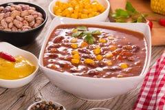 Τσίλι βόειου κρέατος στοκ εικόνες με δικαίωμα ελεύθερης χρήσης