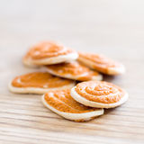 τσίλι μπισκότων αλμυρό Στοκ φωτογραφία με δικαίωμα ελεύθερης χρήσης
