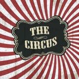 τσίρκο ανασκόπησης κλασσικό Στοκ Εικόνες