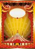 τσίρκο ανασκόπησης πολύχρ Στοκ Εικόνες
