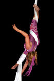 τσίρκο καλλιτεχνών Στοκ Φωτογραφίες