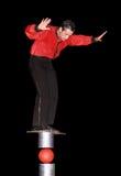 τσίρκο καλλιτεχνών Στοκ Εικόνα