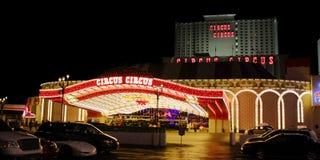 Τσίρκο Λας Βέγκας τσίρκων Στοκ Εικόνες