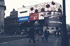 τσίρκο Λονδίνο piccadilly Στοκ φωτογραφίες με δικαίωμα ελεύθερης χρήσης