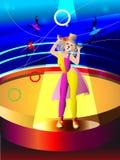 Τσίρκο που η γυναίκα Στοκ φωτογραφίες με δικαίωμα ελεύθερης χρήσης