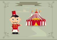 τσίρκο στην υποδοχή Στοκ φωτογραφίες με δικαίωμα ελεύθερης χρήσης