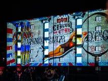 Τσίρκο του φωτός Στοκ φωτογραφία με δικαίωμα ελεύθερης χρήσης