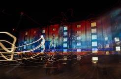 Τσίρκο του φωτός Στοκ Εικόνες