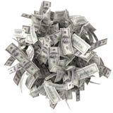 Τσαλακωμένοι λογαριασμοί Στοκ Φωτογραφία
