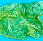 τσαλακωμένος η διαφανής τσάντα στοκ εικόνα με δικαίωμα ελεύθερης χρήσης