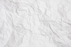 τσαλακωμένο έγγραφο Στοκ Εικόνα