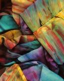 τσαλακωμένο ουράνιο τόξο Στοκ φωτογραφίες με δικαίωμα ελεύθερης χρήσης