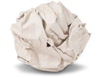 τσαλακωμένο σφαίρα έγγρα&ph στοκ εικόνα με δικαίωμα ελεύθερης χρήσης