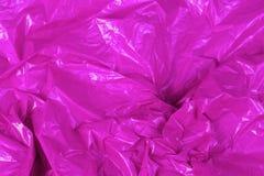 Τσαλακωμένο polyethilene αφηρημένο υπόβαθρο ταινιών με την εκλεκτική εστίαση στοκ φωτογραφία με δικαίωμα ελεύθερης χρήσης
