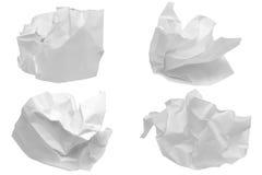 τσαλακωμένο έγγραφο Στοκ εικόνα με δικαίωμα ελεύθερης χρήσης