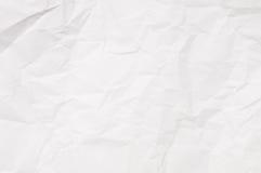 τσαλακωμένο ανασκόπηση λευκό εγγράφου Στοκ φωτογραφίες με δικαίωμα ελεύθερης χρήσης