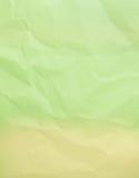 Τσαλακωμένο υπόβαθρο Πράσινης Βίβλου Στοκ φωτογραφία με δικαίωμα ελεύθερης χρήσης