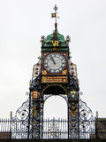 ΤΣΕΣΤΕΡ, CHESHIRE/UK - 10 ΟΚΤΩΒΡΊΟΥ: Ρολόι κέντρων της πόλης του Τσέστερ μέσα Στοκ φωτογραφία με δικαίωμα ελεύθερης χρήσης