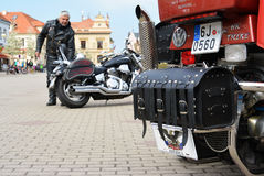 Τσεχία 04 Podebrady 09 ποδήλατο του 2017 στο τετράγωνο στοκ εικόνες με δικαίωμα ελεύθερης χρήσης