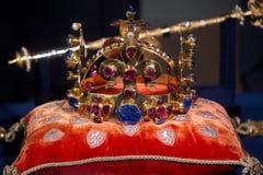 Τσεχικά κοσμήματα κορωνών Στοκ Εικόνες
