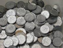 Τσεχικά νομίσματα korunas Στοκ εικόνα με δικαίωμα ελεύθερης χρήσης