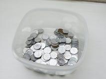 Τσεχικά νομίσματα korunas Στοκ Φωτογραφία