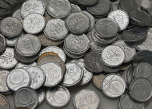 Τσεχικά νομίσματα korunas Στοκ φωτογραφίες με δικαίωμα ελεύθερης χρήσης