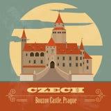 Τσεχικά ορόσημα διανυσματική απεικόνιση