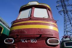 Τσεχική ατμομηχανή στη Ρωσία Στοκ εικόνες με δικαίωμα ελεύθερης χρήσης