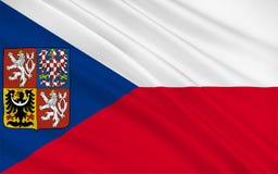τσεχική δημοκρατία σημαιώ& ελεύθερη απεικόνιση δικαιώματος
