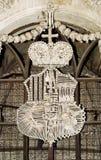 Τσεχική εκκλησία κόκκαλων Στοκ εικόνα με δικαίωμα ελεύθερης χρήσης