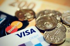 Τσεχική επιχείρηση νομίσματος Στοκ εικόνα με δικαίωμα ελεύθερης χρήσης