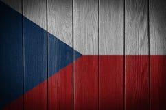τσεχική δημοκρατία σημαιώ& Στοκ Εικόνες