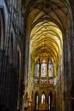τσεχική κυρία εκκλησιών η δημοκρατία της Πράγας μας tyn Στοκ Εικόνες