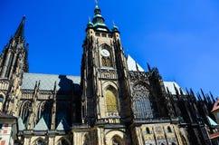 τσεχική κυρία εκκλησιών η δημοκρατία της Πράγας μας tyn Στοκ εικόνα με δικαίωμα ελεύθερης χρήσης