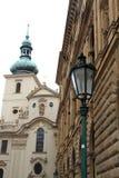 τσεχική πόλη δημοκρατιών τ&eta Στοκ εικόνες με δικαίωμα ελεύθερης χρήσης