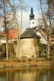 τσεχική πόλη δημοκρατιών policka στοκ φωτογραφία με δικαίωμα ελεύθερης χρήσης