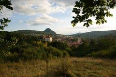 Τσεχική πόλη Στοκ φωτογραφίες με δικαίωμα ελεύθερης χρήσης