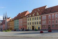 Τσεχική πόλη Cheb Στοκ εικόνα με δικαίωμα ελεύθερης χρήσης