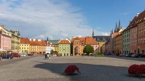 Τσεχική πόλη Cheb Στοκ φωτογραφίες με δικαίωμα ελεύθερης χρήσης
