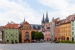 Τσεχική πόλη Cheb Στοκ φωτογραφία με δικαίωμα ελεύθερης χρήσης
