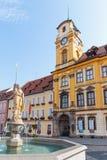 Τσεχική πόλη Cheb Στοκ Εικόνες