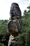 Τσεχικοί Βοημίας βράχοι Klokoci παραδείσου Στοκ Εικόνες