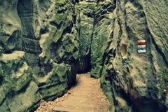 τσεχικός παράδεισος Στοκ εικόνα με δικαίωμα ελεύθερης χρήσης