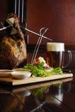 τσεχικό μεσημεριανό γεύμα Στοκ Φωτογραφία