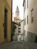τσεχικό krumlov αρχιτεκτονική&sigm Στοκ Φωτογραφία