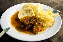 τσεχικό stew Στοκ φωτογραφία με δικαίωμα ελεύθερης χρήσης
