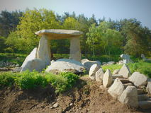 Τσεχικό ` Stonehenge ` στη δυτική Βοημία Στοκ φωτογραφίες με δικαίωμα ελεύθερης χρήσης
